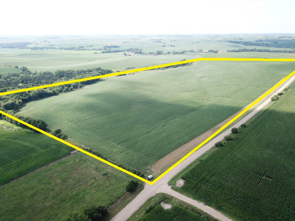 Featured image for the 100+/- Pivot Irrigated Crop Land Acres – Platte County Nebraska auction.